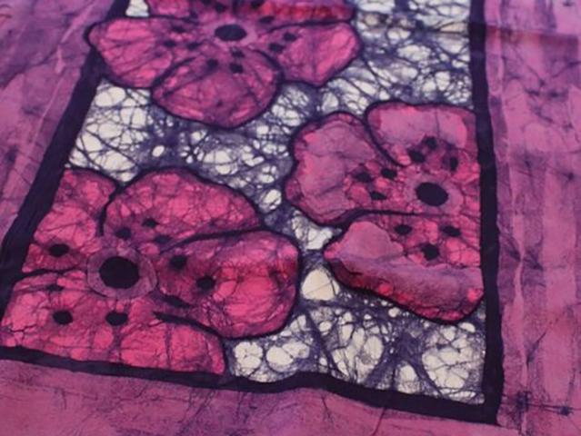 Cherry Blossom Scarf