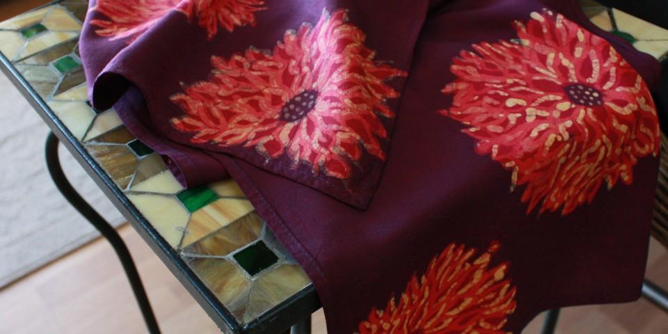 Batik Scarf – Mums
