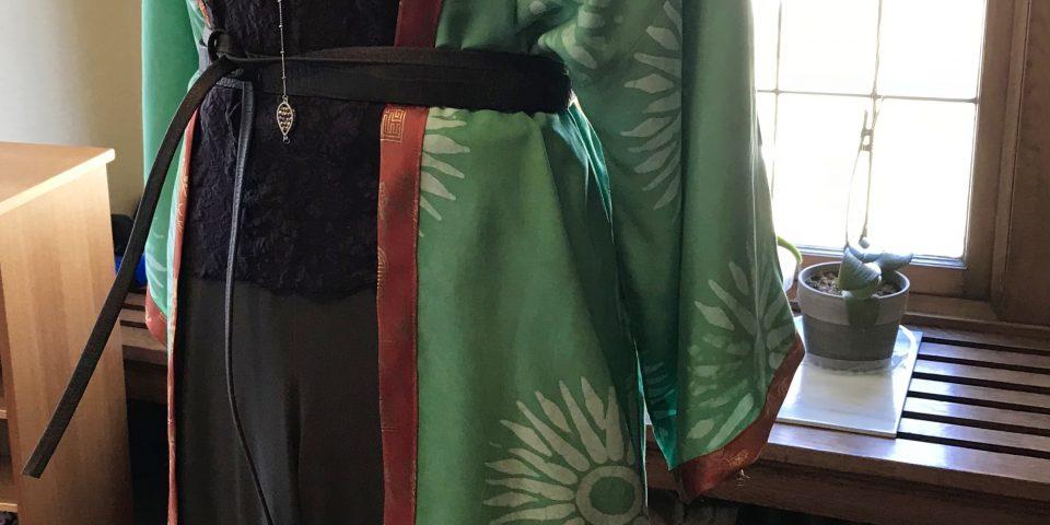 Long Rayon Kimono