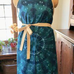 Cotton Tie Dye Apron