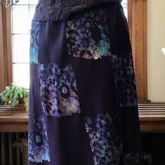 Batik Midi Skirt